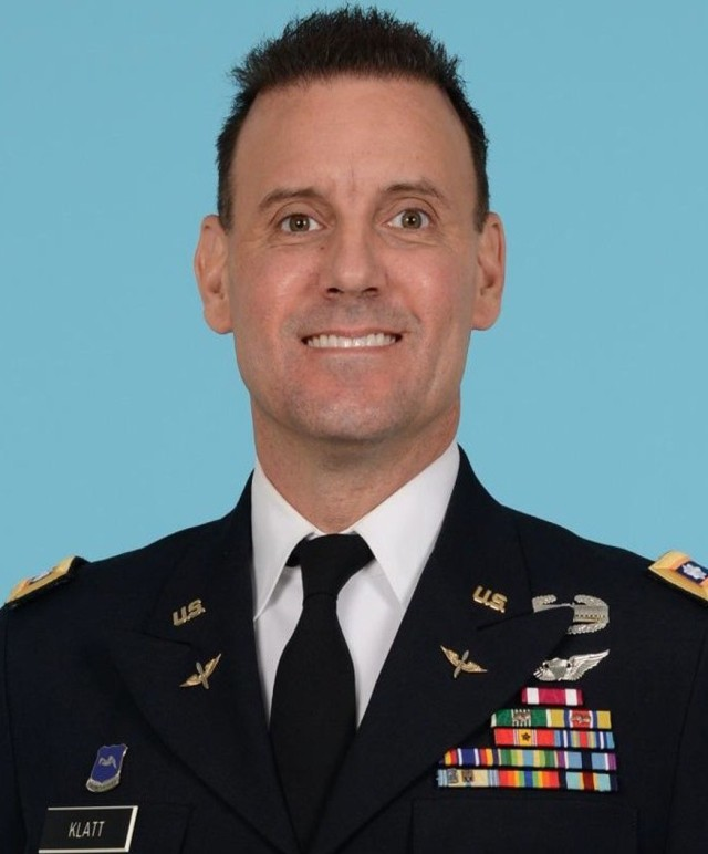 U.S. Army Reserve Lt. Col. Bryan P. Klatt, newest commander of 6th Battalion, 52nd Aviation Regiment (Theatre Fixed Wing Battalion), 11th Expeditionary Combat Aviation Brigade, assumed command from Lt. Col. Patrick L. Pollak during a telephonic change of command ceremony, June 8, 2020.  Due to COVID-19 restrictions, the battalion adopted this alternative method of communication to allow immediate family, ceremony staff, and key personnel to attend the transfer of authority and responsibility.