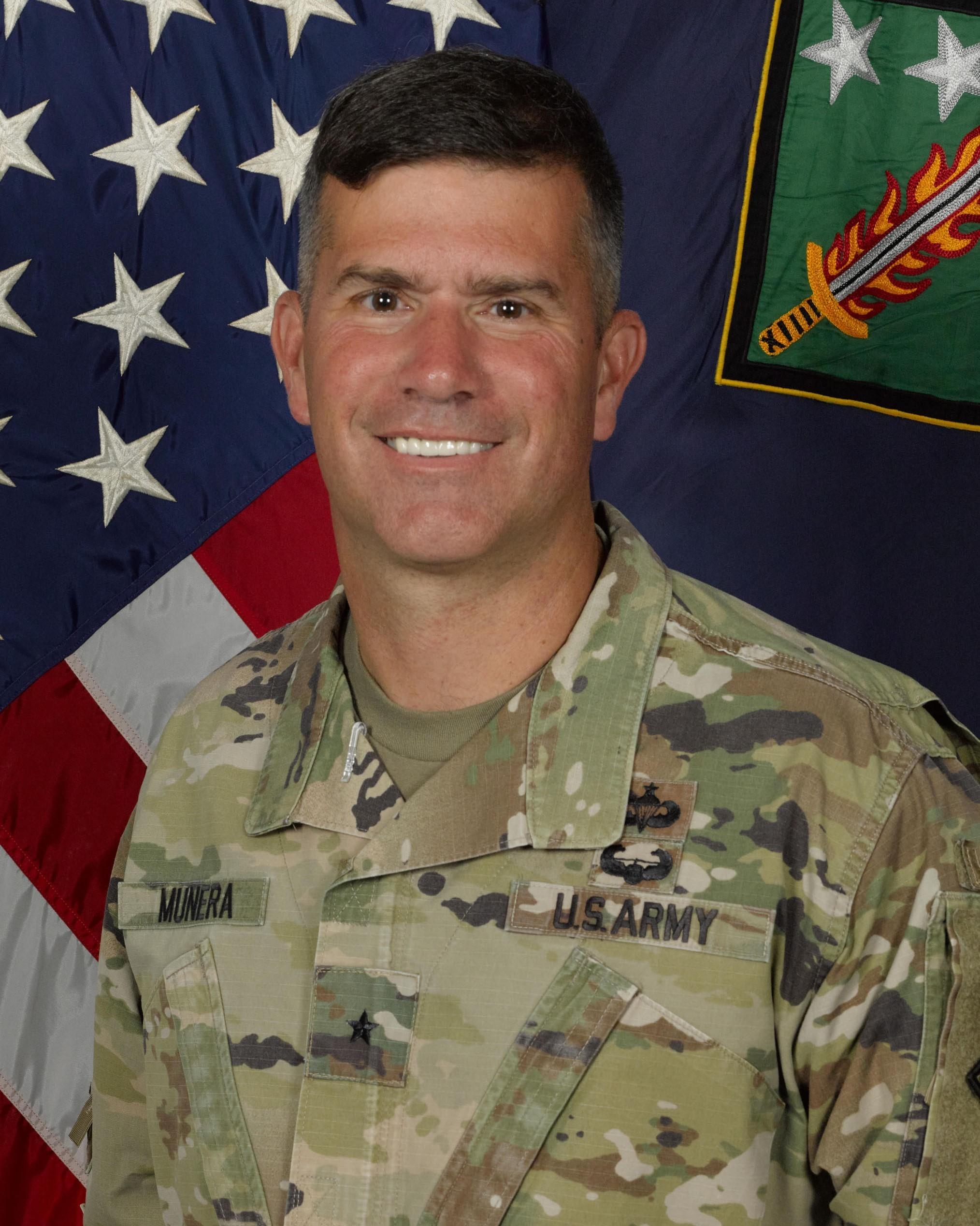 Brigadier General Antonio (Andy) Munera