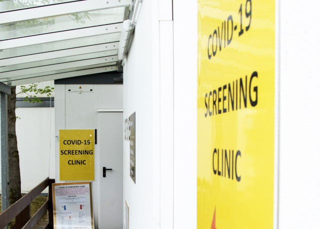 Starting June 15, Landstuhl Regional Medical Center's COVID-19 Screening Clinic will reduce hours of operation. New hours of operation will be Monday – Friday 7:30 a.m. – 4:30 p.m.