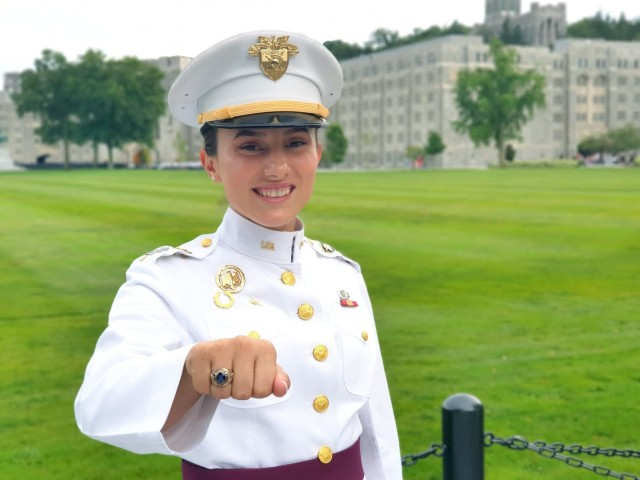 Class of 2020 Cadet  Arelena Shala will become the first female cadet from Kosovo to graduate from West Point on Saturday. Prior to returning home to serve in the Kosovo Army she will attend Stanford University as a Knight-Hennessy Scholarship recipient.