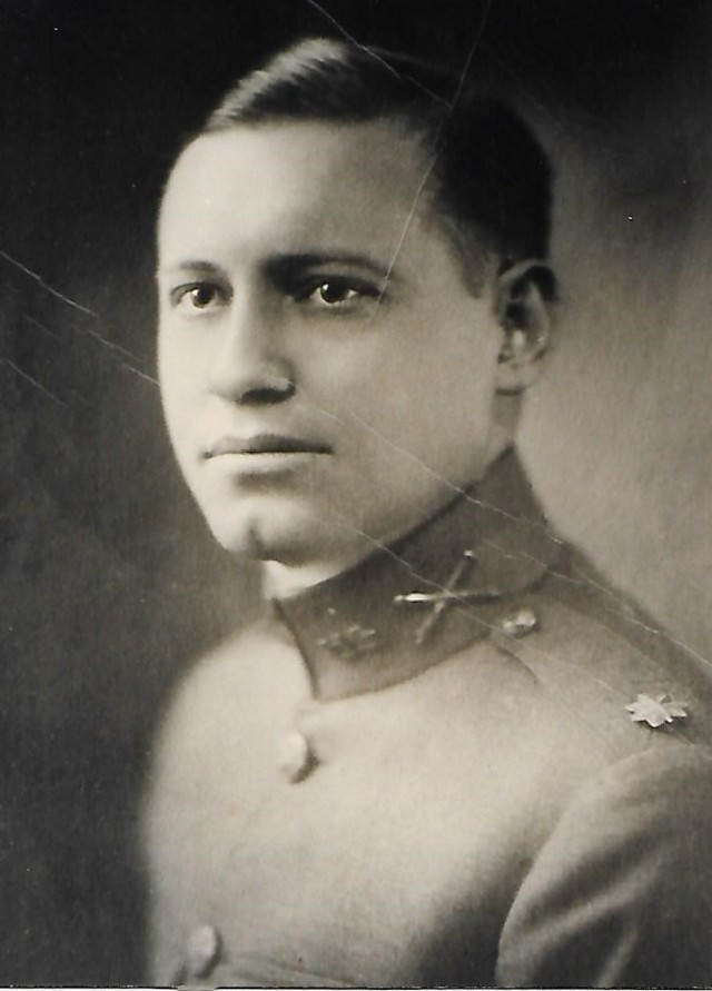 Maj.  Lawerence Leslie Anderson Sr., a veteran of World War I and great-grandfather of 2nd Lt. Anna-Elise Anderson.