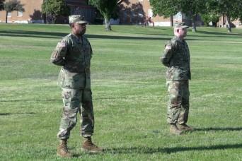 309th MI Bn. changes command