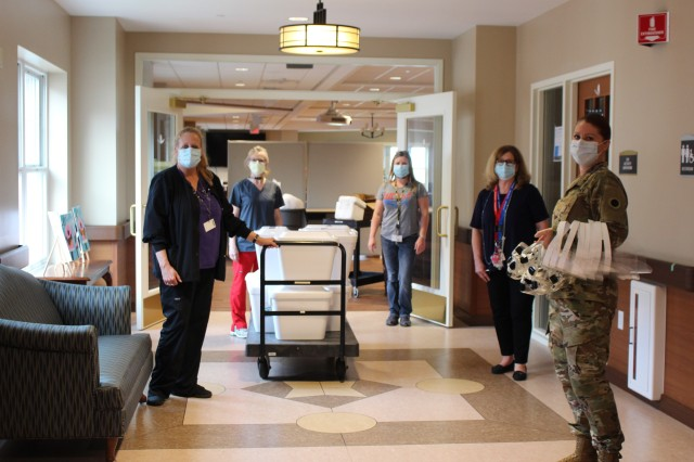 Ohio National Guard tests veterans' home residents, staff
