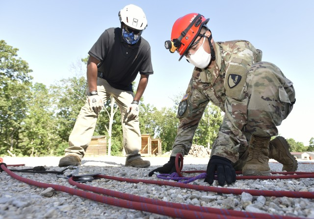 Urban Search and Rescue conducts training course at Fort Leonard Wood