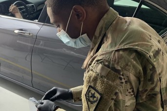 Nevada Guard helps fight COVID-19 in historic response