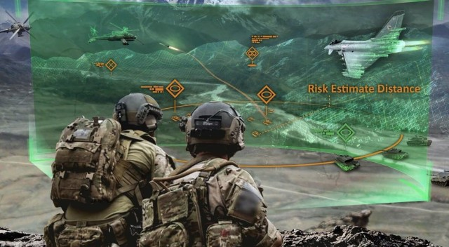 Army researchers envision information dynamics and mediation for multi-echelon communication between cross-reality systems, robot agents and distributed command.