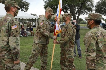 U.S. Army South Headquarters and Headquarters Battalion holds change of command