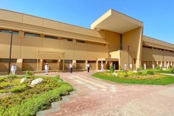 NSA Bahrain Cuts Ribbon on new USACE Built Medical Facility