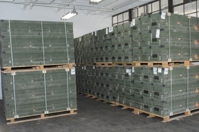 Munitions storage at Anniston Munitions Center (ANMC), a Joint Munitions Command installation, and part of ANMC's digital storage footprint