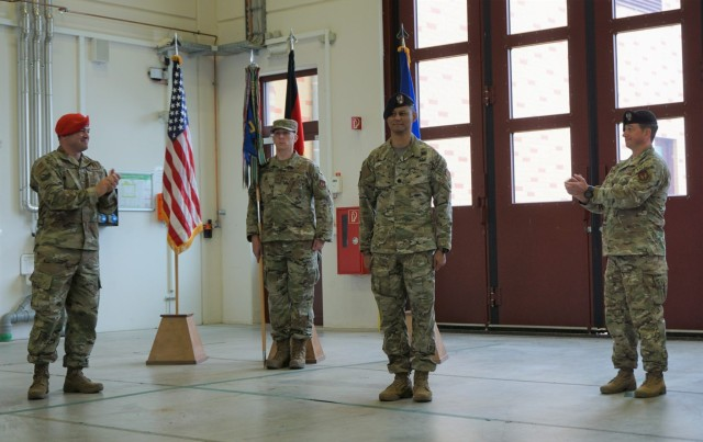 2nd Air Support Operation Squadron Change of Command Ceremony