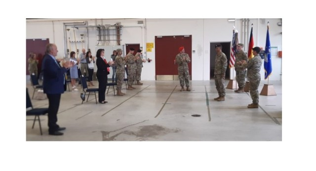 The 2nd Air Support Operation Squadron hosts Change of Command ceremony