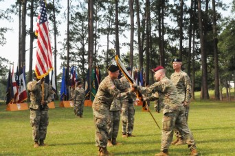 32nd HC hosts change of command ceremony