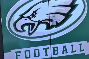 Fort Knox Middle High School upgrading football team wall locker, athletics weight room