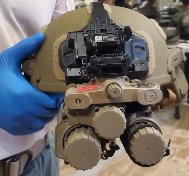 3rd Squadron, 89th Cavalry Regiment began training on the new Enhanced Night Vision Goggle - Binocular (ENVG-B) June 1.