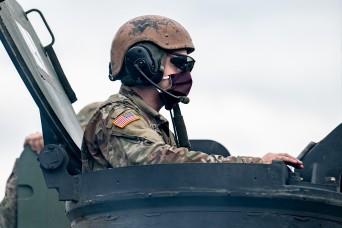 West Virginia field artillery unit resumes normal training