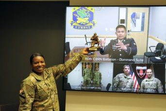 Soldiers earn 2020 Best Warrior selection for 20th CBRNE Command