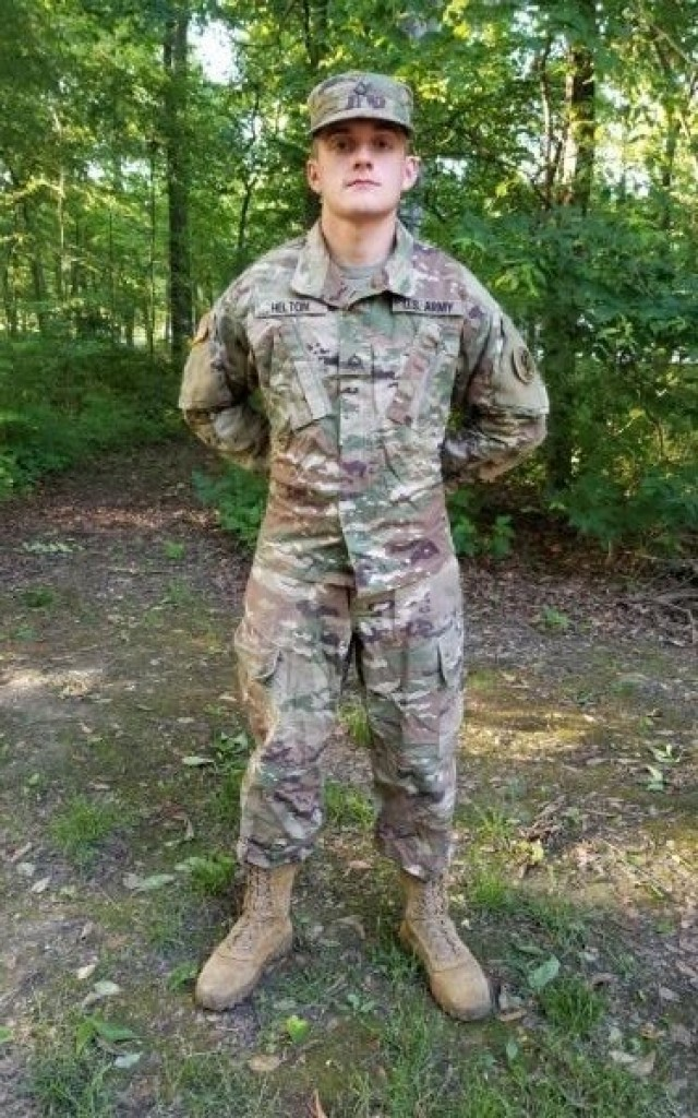 Cadet Jackson Helton is achieving his academic and military goals with the help of a Minuteman Scholarship. (U.S. Army photo courtesy of Cadet Jackson Helton)