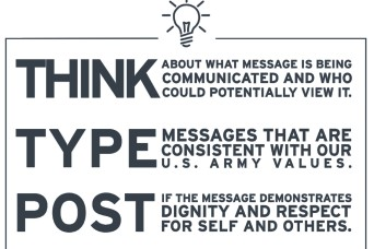 'Think, type, post' strategy key to social media success