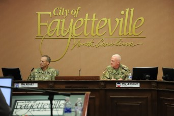 Four Fort Bragg Leaders Discuss Army Readiness, Army Hiring Days, COVID-19 Health Precautions