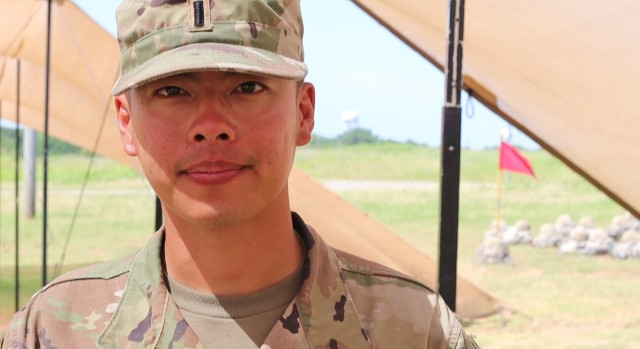 First Lt. Alex Shen said he joined the Army to challenge himself. And that challenge is a daily one he does not regret accepting.