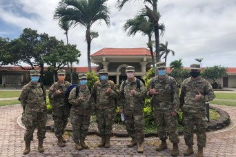 Army Reserve Nurse deploys to Saipan in Support of COVID-19 Response