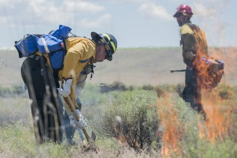 Guard members earn 'Red Card' to fight wildland fires