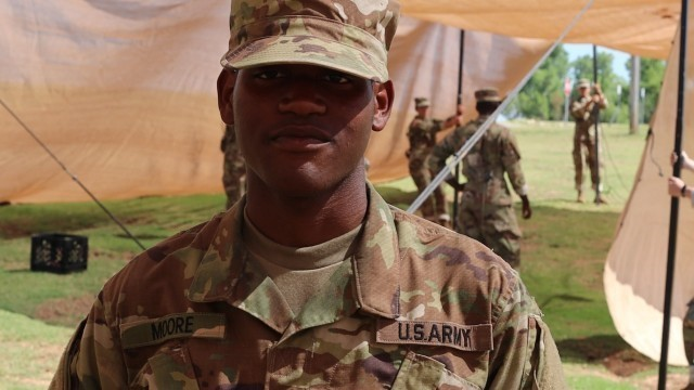 Soldier signs up for passion in Army profession