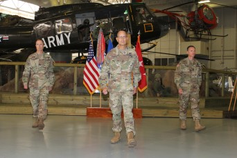 Fort Rucker's ATSCOM, 164th TAOG welcome new commander