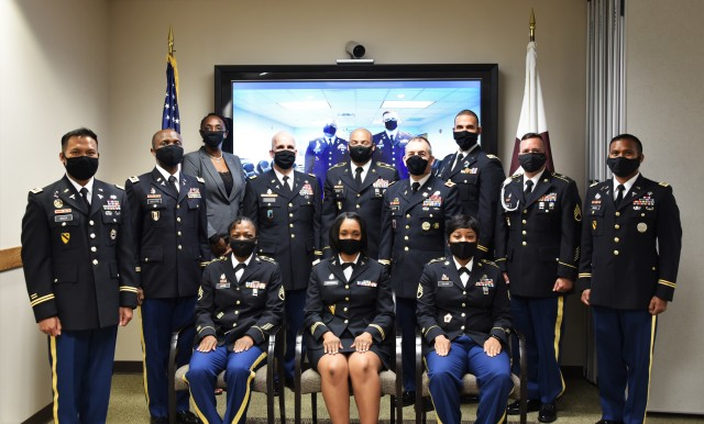 Eleven Soldiers were recognized for completing the U.S. Army Medical Materiel Agency's Medical Logistics Management Internship Program (MLMIP) during a graduation ceremony on June 23 at Fort Detrick, Maryland. The class was the 103rd since the program's inception in 1967.