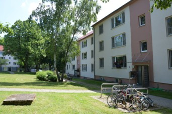 Housing staff engages residents, improves with survey feedback