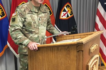 U.S. Army Operational Test Command sends off senior enlisted advisor to Ft. Irwin