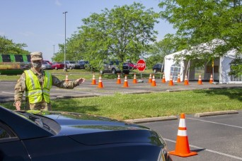 Kentucky Guard stays in fight against COVID-19 with multiple Drive-Thru Test Sites