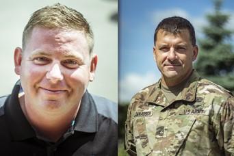 Michigan Guard members assist car accident victims