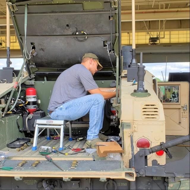 SFAB HMMWV vehicle integration