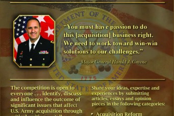 Acquisition writing competition empowers workforce, drives dialogue
