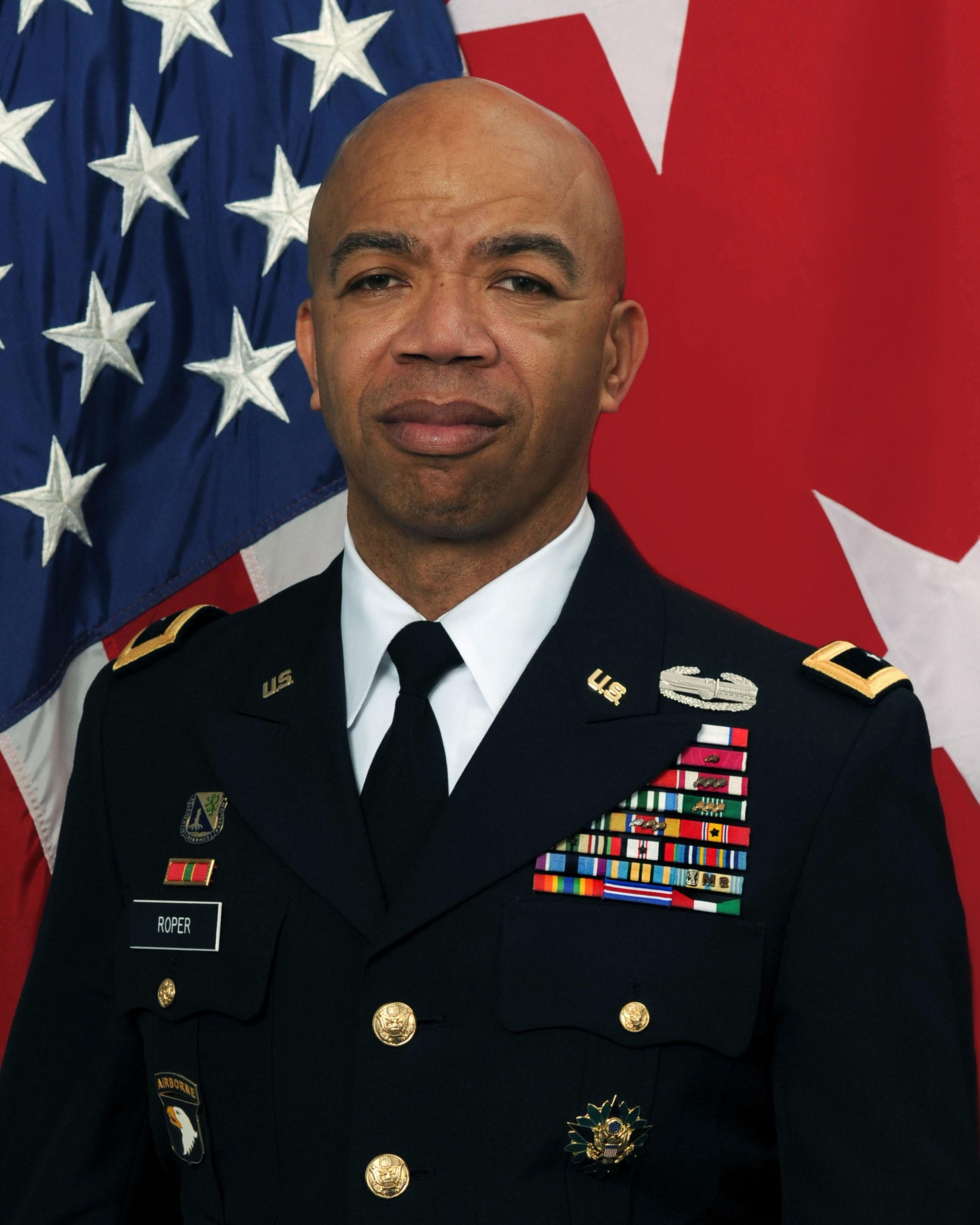 Maj. Gen. A.C. Roper