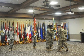 Fort Polk's MICC hosts change of command