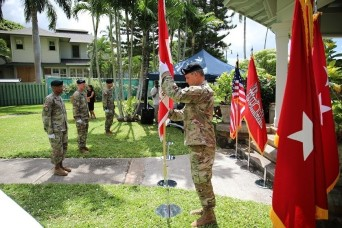 Pacific Ocean Division holds Change of Command & Responsibility Ceremony