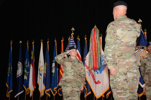 Rampy invested as 62nd Adjutant General of the Army