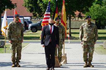 USAG Bavaria hosts change of command ceremony