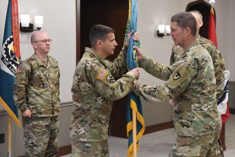 LOGCAP Support Brigade conducts change of command ceremony