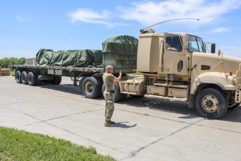 Nebraska National Guard helps distribute PPE across state