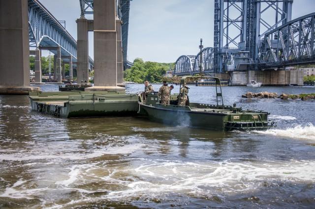 250th MRBC Conducts Bridging Operations Training
