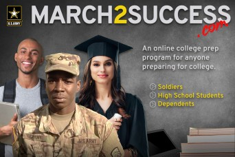Army offers college prep website amid pandemic