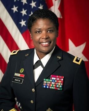 Maj. Gen. Donna Martin