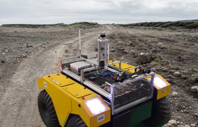 Ground robots trained to receive demonstration commands – instead of verbal commands.
