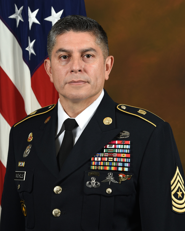 Sergeant Major Jack Nichols