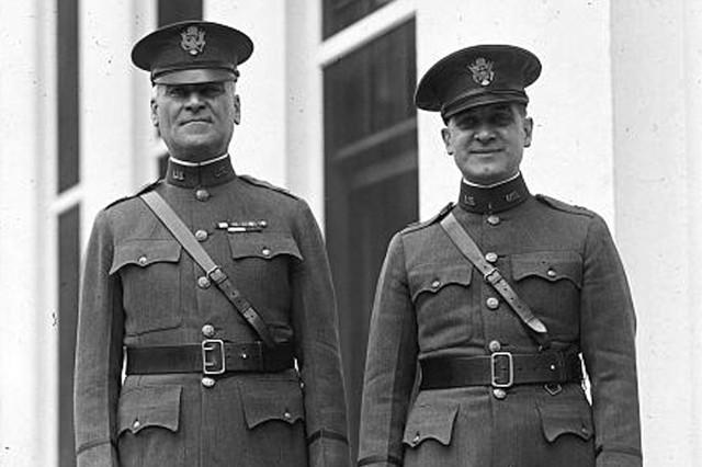 Chaplain Axton, and his son, John V. Axton, was also an Army chaplain