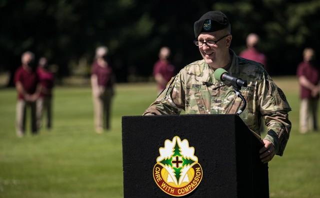 Col. Bundt says farewell