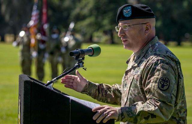 Col. Warner speaks